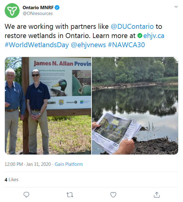 DUC - Happy World Wetlands Day