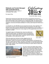 AMJV prescribed burn article